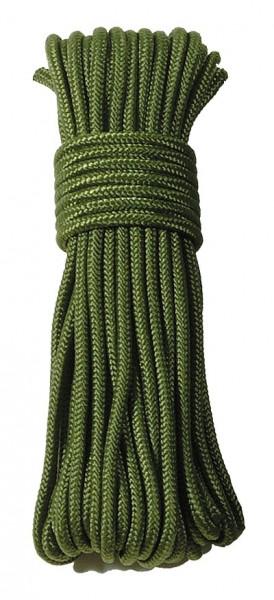 Commando Seil Oliv 15 Meter - 5 mm Durchmesser