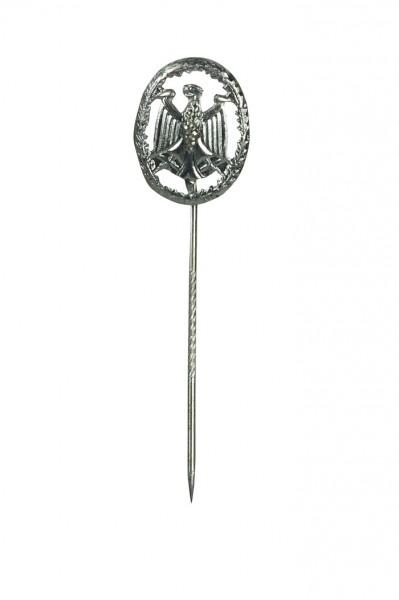 BW Leistungsabzeichen Silber Mini an Nadel