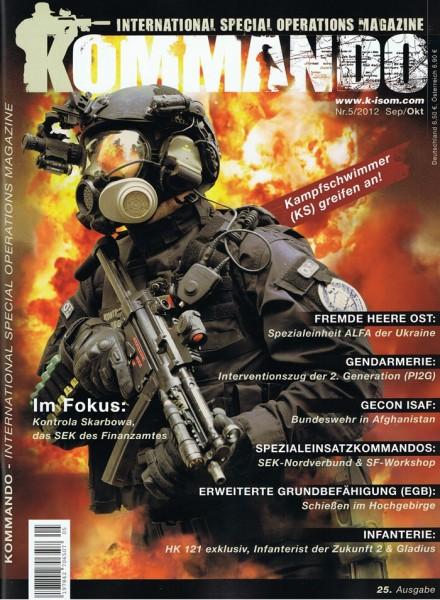 Kommando Magazin K-ISOM Ausgabe: 25 Nr.5/2012