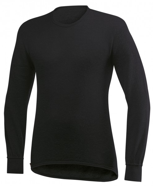 Woolpower Shirt Langarm 200 Schwarz