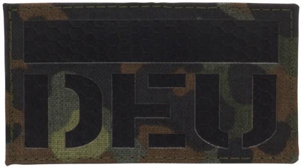 DEU IR Infrarot Patch Mil-Spec Lasercut