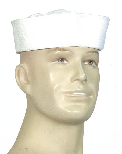 US Navy Sailor Hat Weiss
