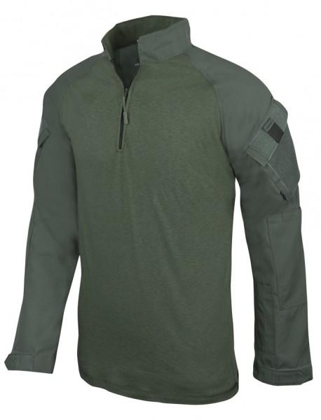 TRU-SPEC Combat Shirt 1/4 Zip Oliv