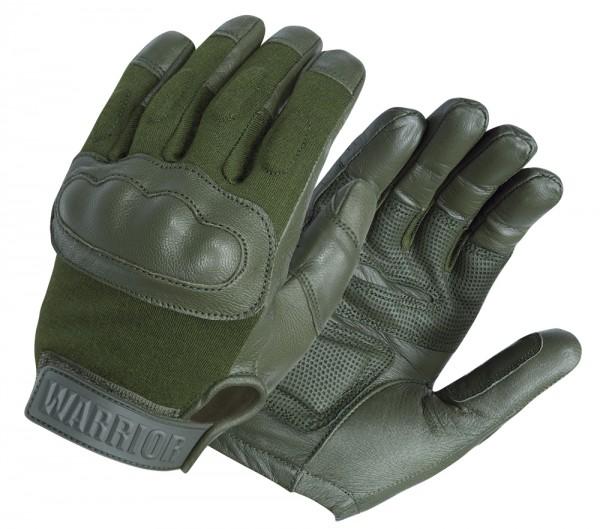 Handschuhe Warrior Enforcer Hard Knuckle Oliv