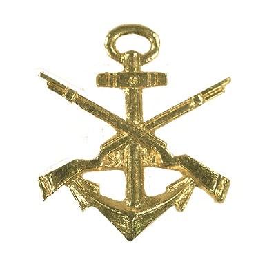 BW Mützenanstecker Metall Marinesicherung