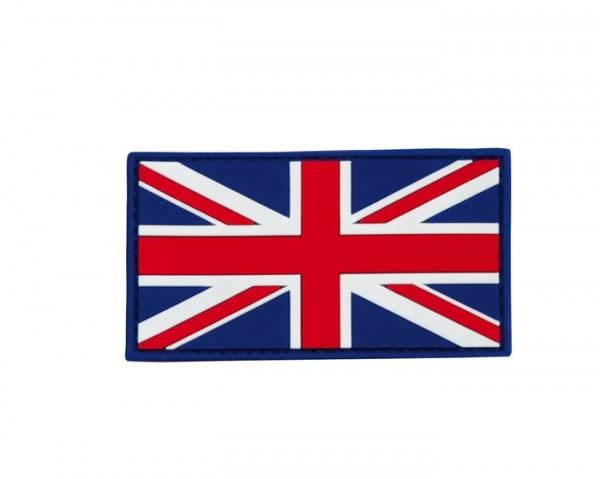 3D Rubber Patch Großbritannien Bunt