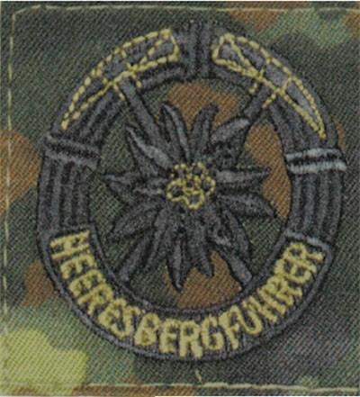 BW Heeresbergführer Flecktarn/Schwarz