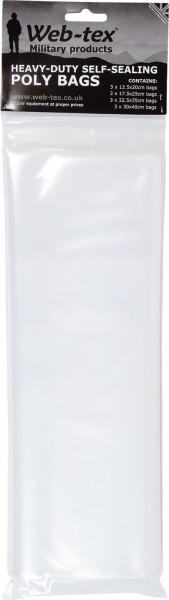 WEB-TEX Poly Bag Set - 12er Set