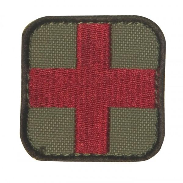 Medic Kreuz Coyote/Rot mit Klett 6er Pack