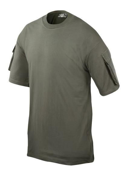 Combat T-Shirt mit Ärmeltasche