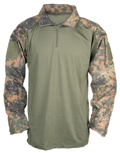 Mil-Tec Tactical Shirt Flecktarn