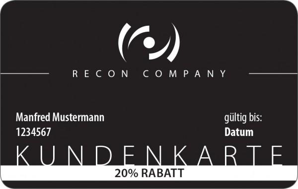 RECON Kundenkarte - für 1 Jahr 20%