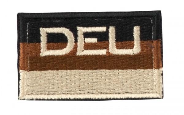 BW Hoheitsabzeichen DEU Sand mit Klettband - Klein