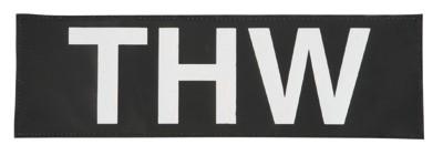 Reflektierender Schriftzug Klein/Klett THW