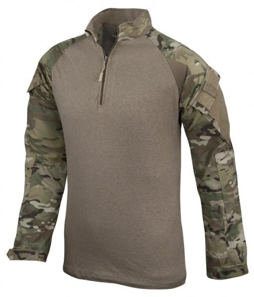 TRU-SPEC Combat Shirt 1/4 Zip Multicam