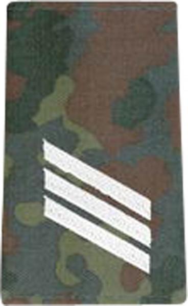 BW Rangschl. Hauptgefreiter Tarn/Silber Klett