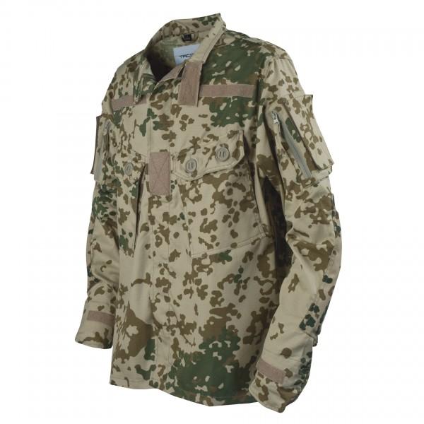 TACGEAR Commando-Feldbluse Tropentarn