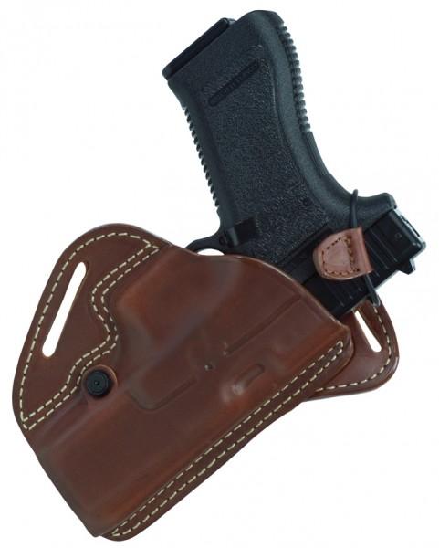 Radar Backdraw Lederholster Glock 17/22 - Rechts