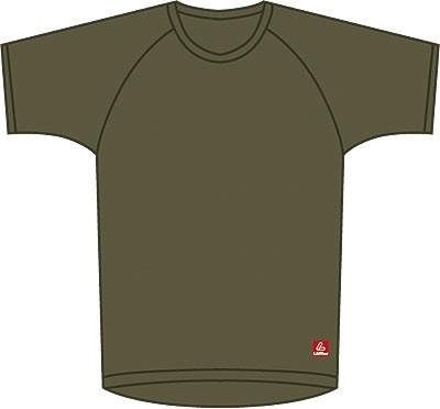 Löffler Transtex T-Shirt 1/2 Arm Oliv