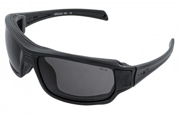 Wiley X Breach Sonnenbrille Smoke Grey