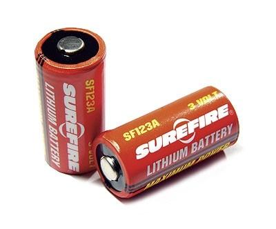 SUREFIRE 3V lithium battery 2-pack