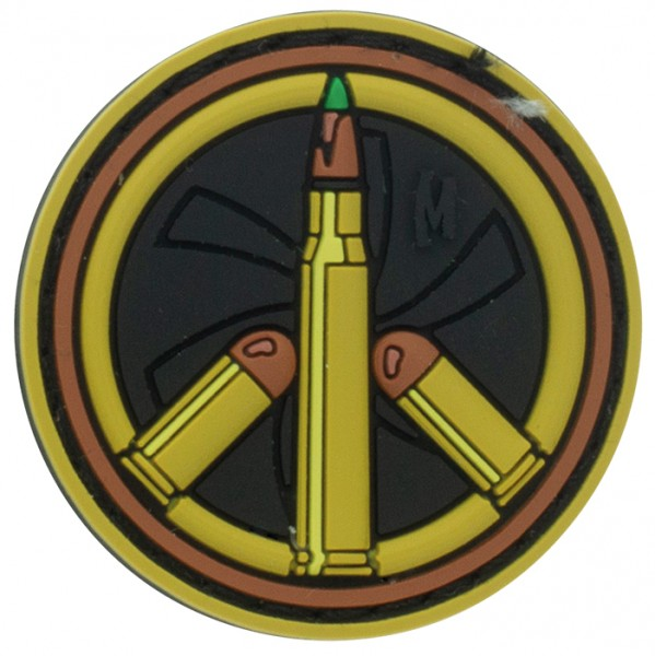 Maxpedition Rubber Patch PEACE BULLET Arid