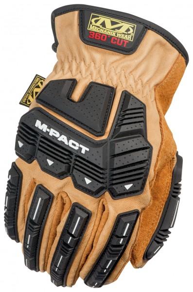 Handschuhe Mechanix DuraHide M-Pact Driver F9-360