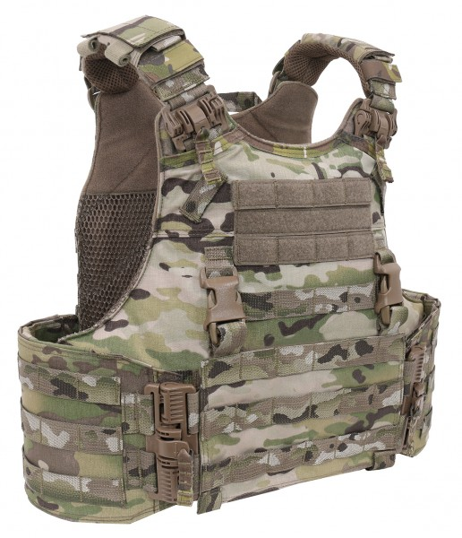 WAS Quad Release Plate Carrier
