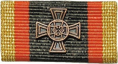 Bandschnalle BW Ehrenkreuz Bronze
