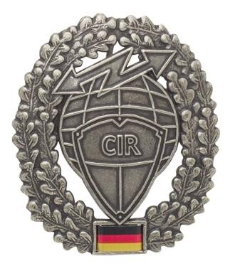 BW Barett Abzeichen CIR Metall