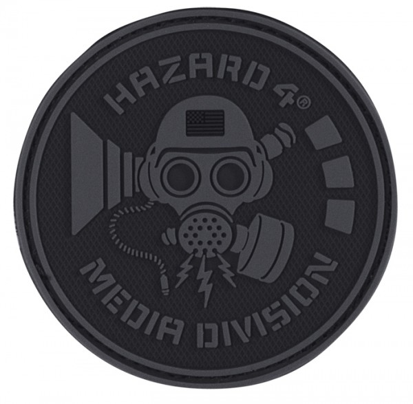 Hazard 4 Rubber Patch MEDIA DIVISION
