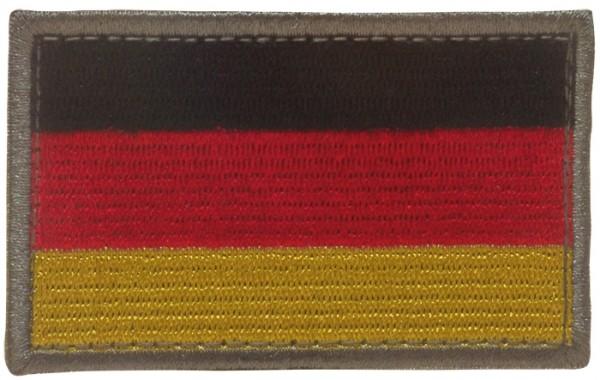 BW Nationalitätsabzeichen Textil mit Klett Gross