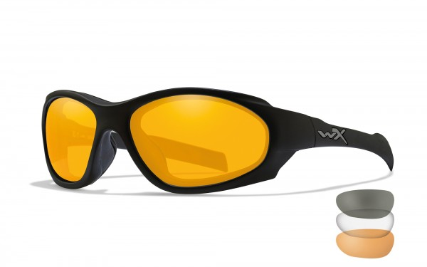 Wiley X XL-1 Advanced Comm Schutzbrille Smoke/Clear/Rust
