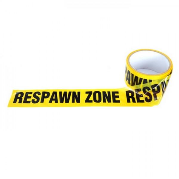 Absperrband Respawn Zone