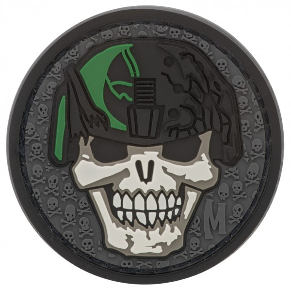 Maxpedition Rubber Patch SOLDIER SKULL Swat