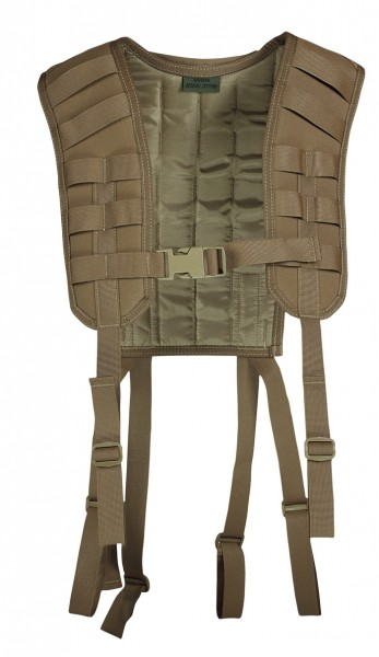 Warrior Molle Harness Coyote