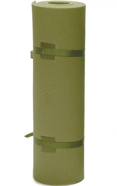 US Iso-Matte Oliv mit Gurten 190x60x1,0 cm