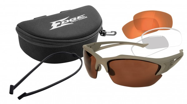 Edge Tactical Acid Gambit Kit Clear/ Tigers Eye/ Polarized Copper