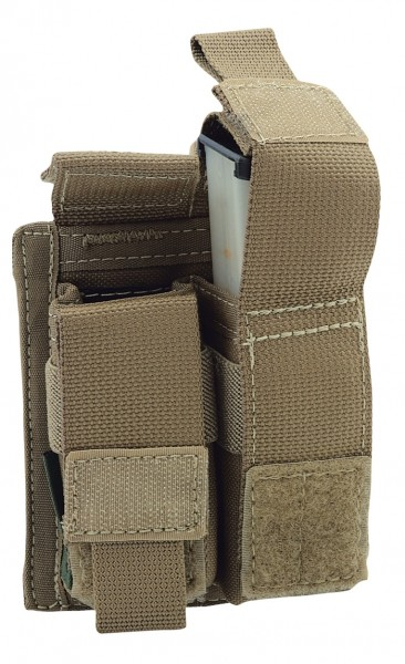 Warrior Double 9mm Pistol Pouch Coyote