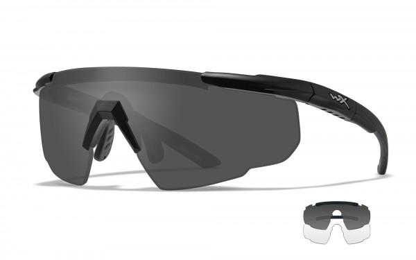 Wiley X Saber Advanced Schutzbrille Smoke/Clear
