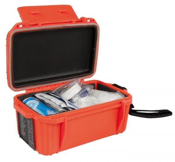 Camping First Aid Kit Box Waterproof Orange
