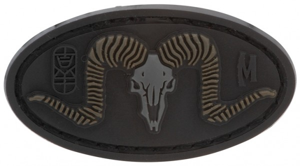Maxpedition Rubber Patch RAM SKULL Stealth