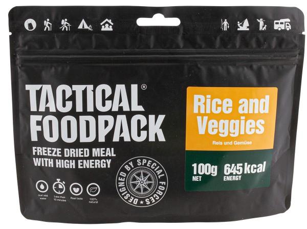 Tactical Foodpack - Reis und Gemüse