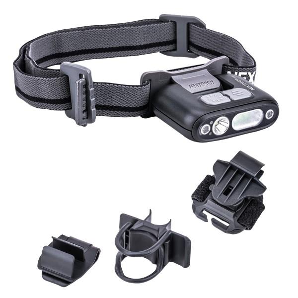 Nextorch LED-Kopflampe UT30 mit Gestensteuerung Multifunktions-Set