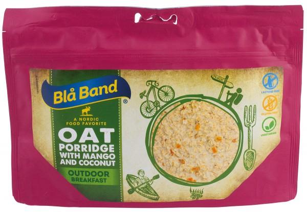 Blå Band Outdoor Breakfast - Haferbrei mit Mango und Kokosnuss