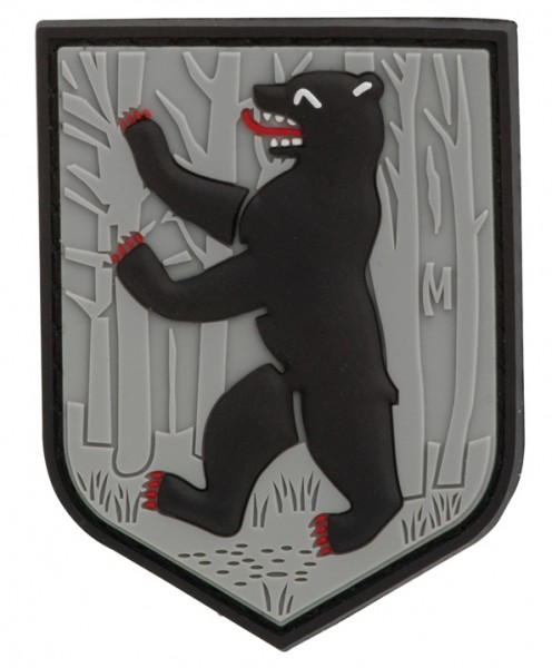 Maxpedition Rubber Patch BERLIN BEAR Swat