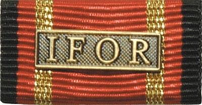 Bandschnalle Auslandseinsatz IFOR