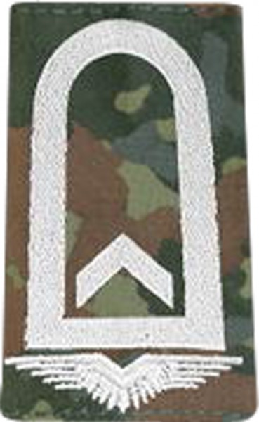 BW Rangschl. Feldwebel Luftwaffe Fleck/Silber