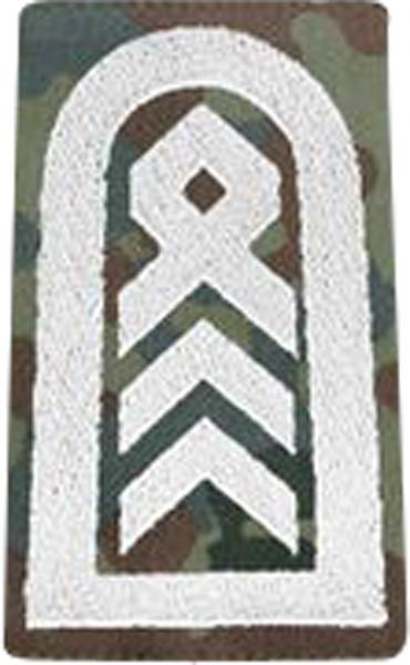 BW Rangschl. Oberstabsfeldwebel Tarn/Silber Klett