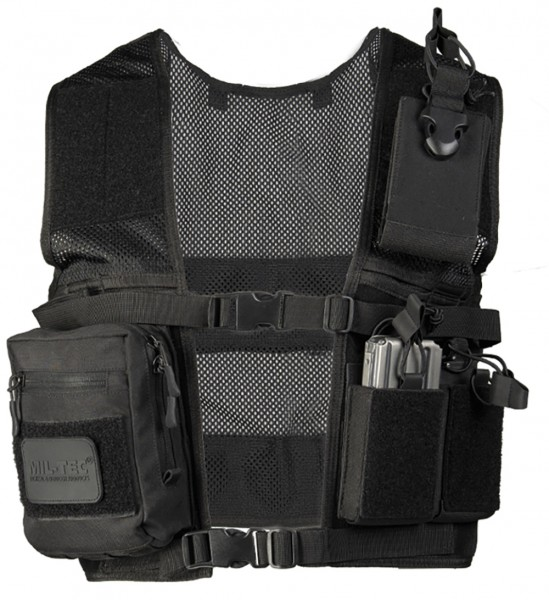 Mil-Tec Security Einsatzweste Mesh